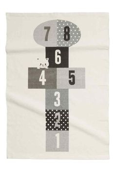 Cotton rug with print motif | H&M
