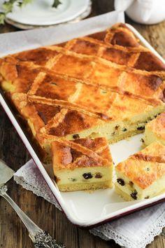 Polish Cake Recipe, Polish Recipes, Polish Food, Tart Recipes, Cooking Recipes, Cooking Ribeye Steak, Just Cooking, Food Cakes, Cheesecake