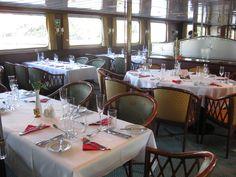 Stilvolle, gediegene Restaurant-Atmosphäre