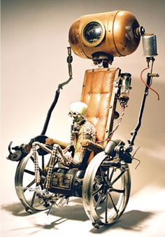 Steampunk Robots: Beautiful Toy Nightmares | Gadget Lab | Wired.com(comment from previous pinner)