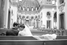 Pictures alone at the wedding chappel | Virginia Wedding Photographer | Katelyn James Photography
