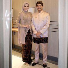 Model Kebaya Brokat Modern, Kebaya Modern Hijab, Kebaya Hijab, Kebaya Muslim, Kebaya Wedding, Muslimah Wedding Dress, Kebaya Lace, Kebaya Dress, Hijab Dress Party