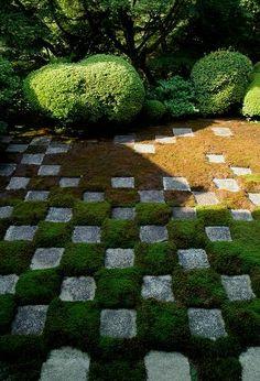 日本庭園的生活:重森三玲