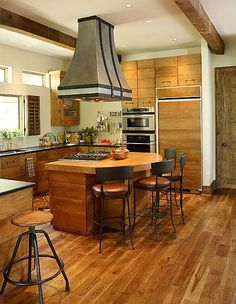 kitchen wood flooring beautiful wood floors with tile backsplash and granite 3508