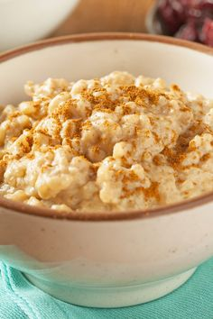 Slow Cooker Old Fashioned Rice Pudding Recipe with Cinnamon