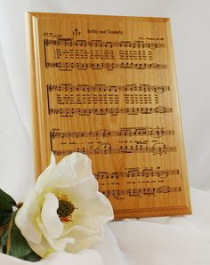Hymn Softly and Tenderly Laser Engraved on by LaserCraftEngraving,