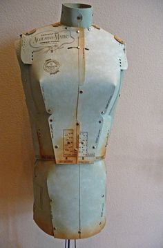 Vintage Original Adjust- O- Matic Dress Form With Stand