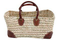 Open Weave Basket, Small on OneKingsLane.com