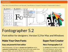 font creation tool fontographer