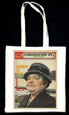 LOVE Coronation Street!  :o) Ena Sharples