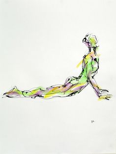 Bhujangasana, available on http://fineartamerica.com/featured/bhujangasana-boryana-korcheva.html  #Cobrapose, #yoga,