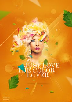Just Love The Color Lover  by Patrick Monkel