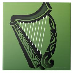 Shop Irish harp tile created by prophoto. Crater Lake National Park, Letter B, Large Photos, Home Reno, Harp, Photo Displays, Keepsake Boxes, Office Gifts, Vinyl Records