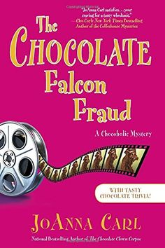 The Chocolate Falcon Fraud: A Chocoholic Mystery by JoAnna Carl.  Pleae click on the book jacket to check availability or place a hold @ Otis. (11/03/15)
