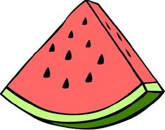 watermelon clipart watermelon number summer fruit bunting and rh pinterest co uk free fruit clipart download free clipart fruits and vegetables