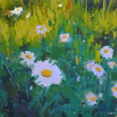 """Spring Study"" original fine art by Carol Marine"
