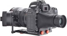 SYSTEM ZERO Follow Focus Standard and Viewfinder Canon 5D MKII