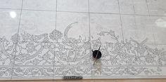 #Designing_Haftrang_Tiles