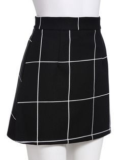 Shop Black Plaid Mini Skirt online. SheIn offers Black Plaid Mini Skirt & more to fit your fashionable needs.