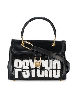 Olympia Le-Tan Psycho sequin embellished tote