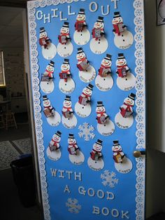 Kleinspiration: Holiday Door Decorations for Classrooms and Creative (but Simple) Winter Themed Bulletin Board Ideas!