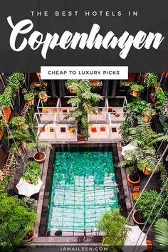 Most Luxurious Hotels, Best Hotels, Travel Pics, Travel Advice, Hotels In Copenhagen Denmark, Adventure Awaits, Adventure Travel, Indoor Tents, Rooftop Restaurant