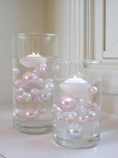 Amazon.com: Unique Wholesale Transparent Water Gels Packet Vase Fillers for Floating the Pearl Beads .....The Red and White Pearl Beads are Sold Separately: Home & Kitchen