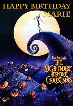 World of Pinatas - The Nightmare Before Christmas Personalized Poster, $16.99 (http://www.worldofpinatas.com/the-nightmare-before-christmas-personalized-poster/)