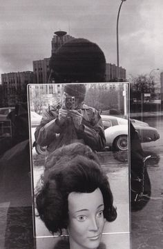 Lee Friedlander «Rochester, New York, 1971 Self Portrait Photography, History Of Photography, Street Photography, Lee Friedlander, Aberdeen, The Dark Side, People Of Interest, Man Ray, Great Photographers