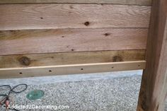 how to build an elevated garden bed table 12