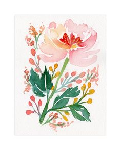 """""""Springtime in Marseilles"""" - Art Print by Natalie Malan in beautiful frame…"""