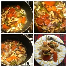 Chop suey seafood