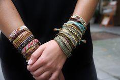 Bracelets #hipanema collection AH 2014-2015 #modefemme #moderouen
