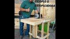 como hacer una escopleadora para madera - YouTube