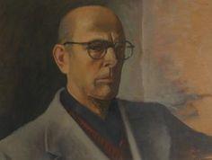 Marcello DUDOVICH autoritratto 1950