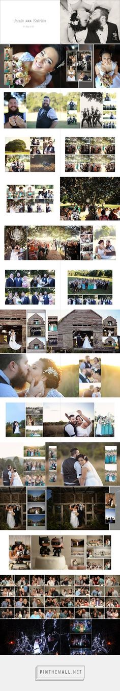 Chocolate Beige Designs: Katrina & Jamie 11x8 flushmount wedding album, images by Katey's Captures