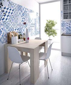 Mesa multiusos convertible en mesa de cocina (237 – MCM36) - Muebles CASANOVA