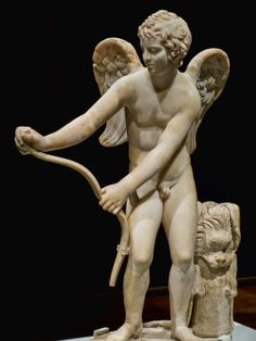 Eros 2nd century CE Roman copy of 4th century BCE Greek original by Lysippos from the Castello di Guido in Italy | Flickr - Photo Sharing!