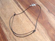 Schiebeknoten für Lederband