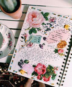A beautiful journal