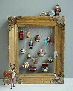 Noel Christmas, Retro Christmas, Winter Christmas, French Christmas, Victorian Christmas, Christmas Balls, Vintage Christmas Decorating, Vintage Christmas Crafts, Office Christmas