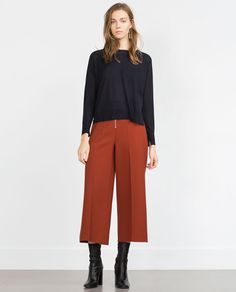 ZARA - WOMAN - SWEATER WITH SIDE SLITS