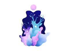 Seres mágicos - Ilustraciones on Behance