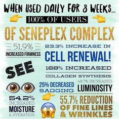 "SenePlex Complex is AMAZING! For LipSense and/or SeneGence orders, join my ""JAM Lips and Listings"" FB group or email me at melodybarlow@gmail.com. Distributor 430829"