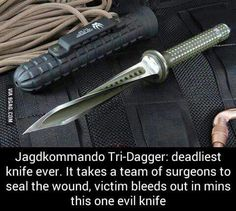 Mind Blowing Facts, Jagdkommando Tri- Dagger : Deadliest knife ever. Writing Help, Writing Prompts, Writing Tips, Story Prompts, Creative Writing, Apocalypse Survival, Zombie Apocalypse, Story Inspiration, Writing Inspiration