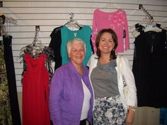 Rose Mary Fry and Michelle Price at Impact Friendraiser at Salado Creek Boutique at Los Patios