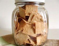 Sourdough Whole Wheat Cracker Jar