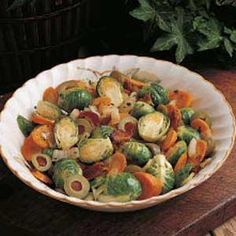 Recipe: Savory Dishes / Company Brussels Sprouts Recipe - tableFEAST