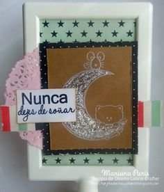 Latina Crafter - Sellos en Español. Lo incluyo dentro de mis favoritos porque es un set de #latinacrafter aplicable a nuestras celebraciones y por la dulzura del diseño!!!!