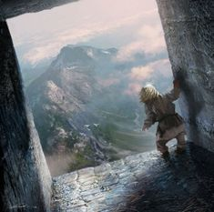 Tyrion Lannister in the sky cells at the Eyrie